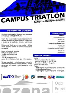 Campus de Triatlón HOZONA - FATRI